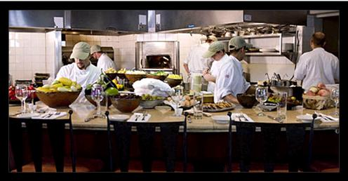 Chef's Table at Hot and Hot Fish Club, picture courtesy of USA Today