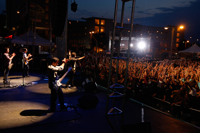Charlotte Concert picture from http://www.thefastandthefabulous.com
