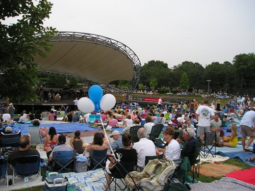 Charlotte Symphony, Pops in the Park, picture from http://www.alumniconnections.com