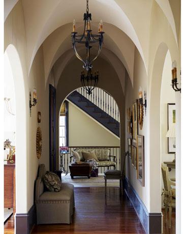 House Beautiful Hallway