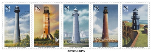 southern lighthouses