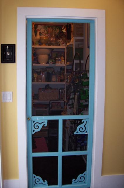 Screen Door Series Pantry Door Sweet Iced Tea