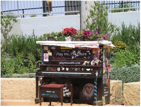 Form of Street Pianos to