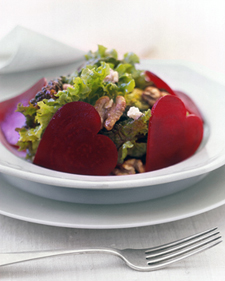 valentines - beet salad