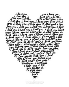 valentines - i love you heart