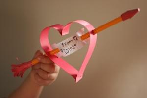 valentines - pencil