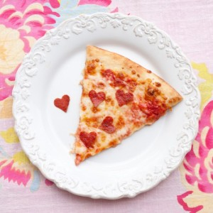valentines - pizza