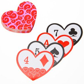 valentines - playing cards