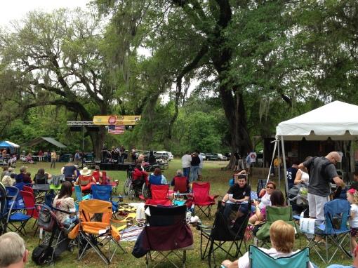 Summerville BBQ concert