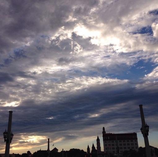 Instagram - November 2013 - St. Augustine sky