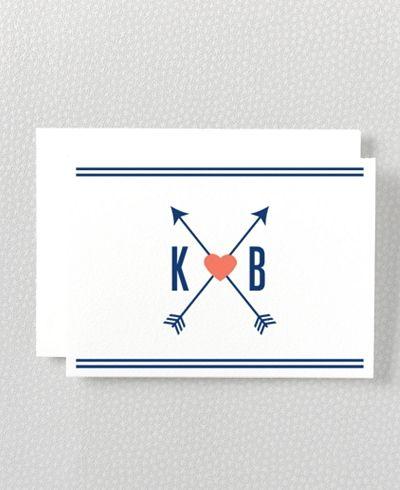 arrow Valentine's card
