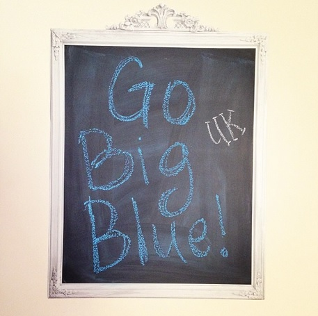 Instagram - Ginger - Go Big Blue March 2014